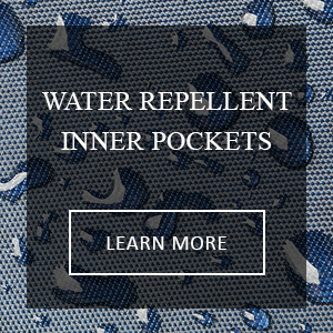 Zhampagge Water Repellant Inner Pockets